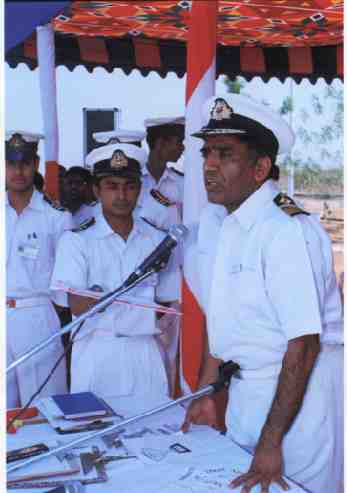 Captain Superintendent Mukesh Baveja